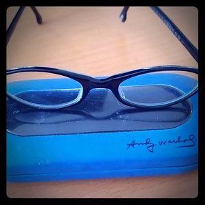 Andy Warhol eyeglasses